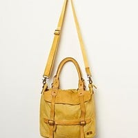 Bed Stu Womens Cascade Tote - Yellow Wash One