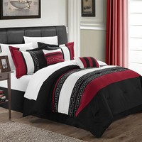 Carlton 10-pc. Reversible Bed Set