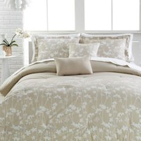 Abstract Floral 5-Pc. Queen Comforter Set | macys.com