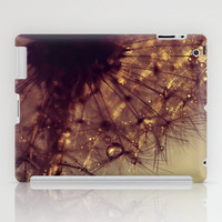 droplets of gold iPad Case by ingz