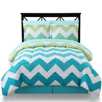 The Big One Ombre Chevron 8-pc. Bed Set - Full