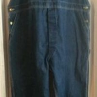 Vintage Big Smith Overalls 50x30 100% Cotton Made in the USA