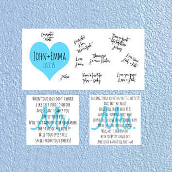 Personalized Wedding Wall Canvas Set, Canvas Guestbook and Personalized First Dance Mr+Mrs Lyrics,Ready to Hang,12x24 Guestbook,12x12 Lyrics
