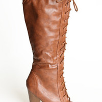 Little Longer Lace Up Boots - $48.00 : ThreadSence.com, Your Spot For Indie Clothing  Indie Urban Culture
