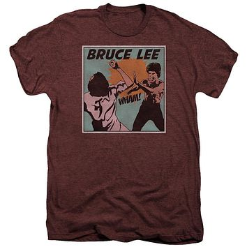 Premium Bruce Lee/Comic Panel Adult TShirt
