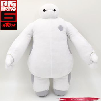 Free Shipping Retail 7 Inch 18 Cm Moive Super Marines Big Hero 6 Baymax Robot Stuff Short Plush Toys White Fat Man Best Gifts