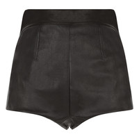 Leisuring Leather High-waisted Panty | La Perla