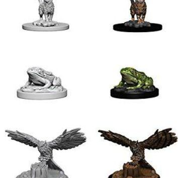 Roleplaying Game Unpainted Miniatures: Familiars