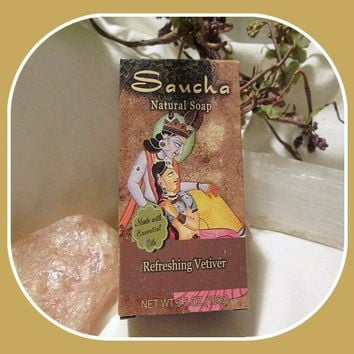 Refreshing Vetiver Saucha Soap