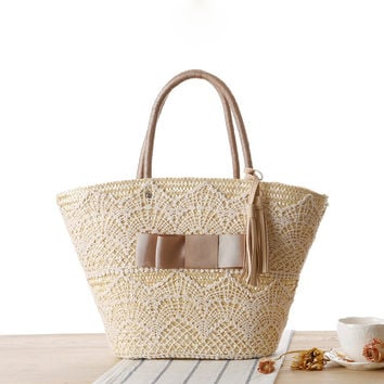 Lace Tassels Shoulder Bags [6580740935]