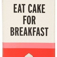 kate spade new york 'eat cake for breakfast' iPad Mini case