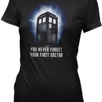 DR. WHO -- FIRST DOCTOR -- JUNIORS TEE (XL)