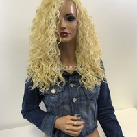 Blond wavy full wig- Cabello 1 18 47