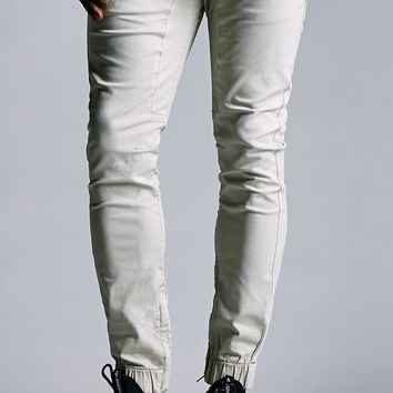 Bullhead Denim Co. Ankle Zip Skinny Jogger Pants - Mens Pants