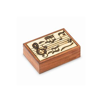 Wooden Music Carved Box