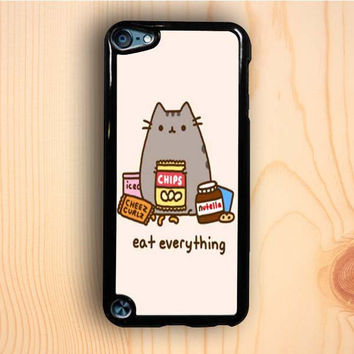 Dream colorful Pusheen The Cat Eat Everything iPod Touch 5th Generation Case