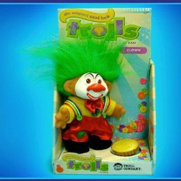 Clown Troll Doll
