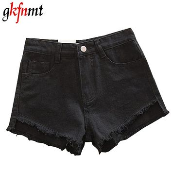 gkfnmt S-4XL 5XL Denim Women Sexy Shorts 2017 Summer Destroyed Shorts Jeans Plus Size High Waisted Jeans Short Feminino Fashion