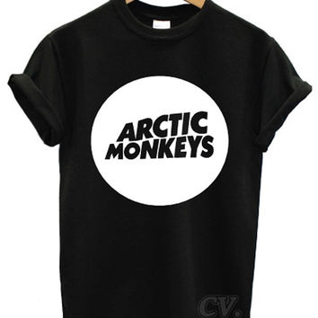 arctic monkeys t shirt circle music indie rock band tour dope swag soundwave am