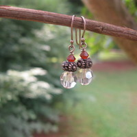 Dainty Crystal Earrings