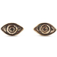 Pamela Love Bronze Oculus Earrings