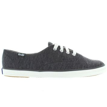 ONETOW Keds Champion - Graphite Jersey Lace-Up Sneaker
