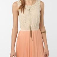 Coincidence & Chance Lace & Chiffon Dress