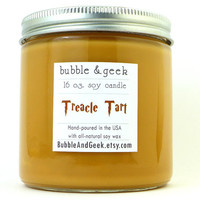 Treacle Tart Scented Soy Candle - 16 oz. jar - Harry Potter