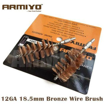 LMFGC3 Armiyo Bronze Wire Rifle Barrel Brush Cleaner Hunting Gun Accessories (Choose Caliber)
