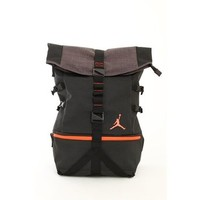 Nike Air Jordan Urban Rucksack Laptop Tablet Backpack Bag 606361 in Black and Infrared