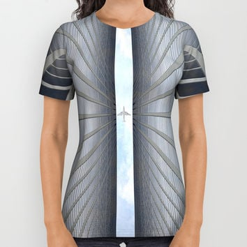 From Below All Over Print Shirt by Chris Bradbury