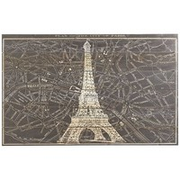 Paris Map Wall Decor