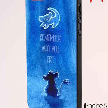 The Lion King Movie Simba Remember Who You Are Samsung Galaxy S6 Case