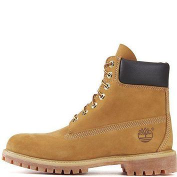 NOV9O2 Timberland Wheat 6 Inch Premium Boot