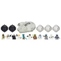 STAR WARS FIGHTER PODS Series I - MILLENIUM FALCON Pack | Toys for Boys | Star Wars