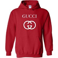 GUCCI Fashion Women Men Letter Print Hoodie Top Sweater I