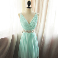 Glamorous Seafoam Blue Prom dresses from Charming girls