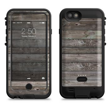 The Rough Wooden Planks V4  iPhone 6/6s Plus LifeProof Fre POWER Case Skin Kit
