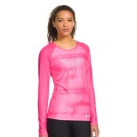 Under Armour Women's UA HeatGear Sonic Wonder Woman Long Sleeve