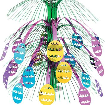 party supplies: easter egg cascade centerpiece Case of 4