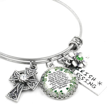 Irish Blessing Bangle