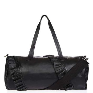 LEO Leather Duffle Luggage Bag - Sale - Sale & Offers