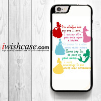 Disney Princess Zombies for iPhone 4 4S 5 5S 5C 6 6 Plus , iPod Touch 4 5  , Samsung Galaxy S3 S4 S5 S6 S6 Edge Note 3 Note 4 , and HTC One X M7 M8 Case