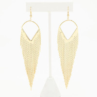 DANGLING FRINGE EARRINGS
