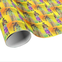 Africa and the Love of Sisters Graphic Wrapping Paper