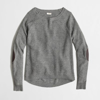 Factory warmspun swingy elbow-patch sweater - Sweaters - FactoryWomen's New Arrivals - J.Crew Factory