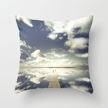 Vanity Throw Pillow by HappyMelvin