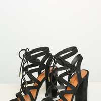 Encounter Lace-Up Heel