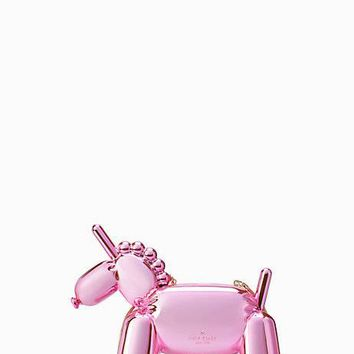 whimsies unicorn balloon clutch
