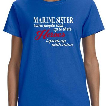 Marine Sister Plus Size T Shirts, Shirts & Tees | Our T Shirt Shack